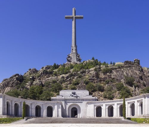 The Valle de los Caídos (Valley of the Fallen), where Franco's body used to be.